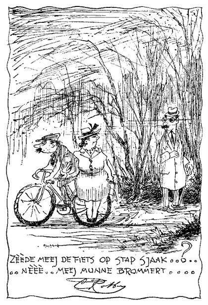 Op de fiets