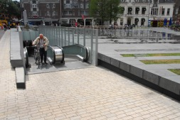 Heuvel Tilburg met fietskelder